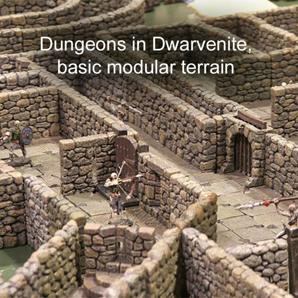 Dungeons - Painted