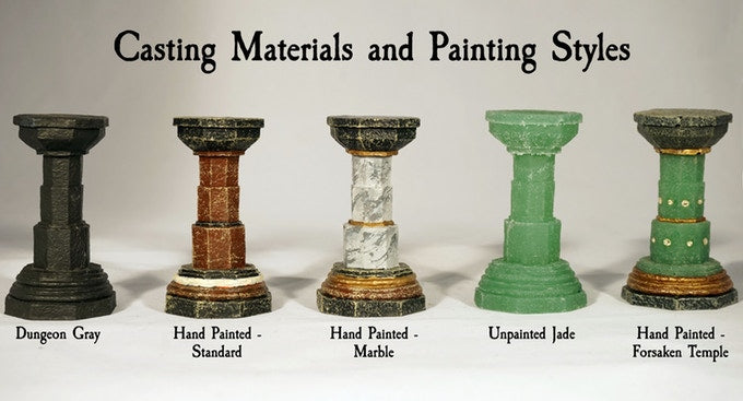 Casting Materials and Paint Styles in the Kickstarter 5