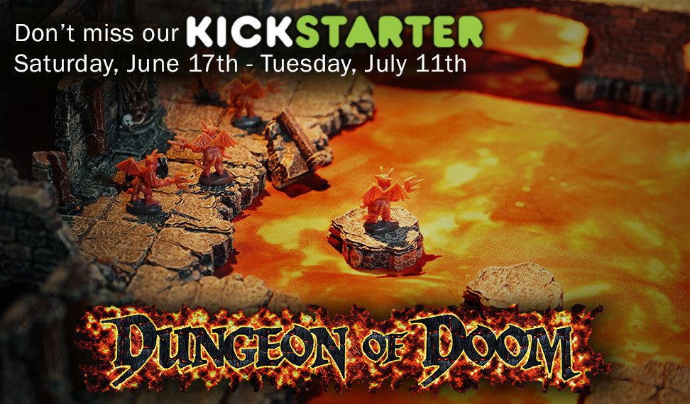 Dwarven Forge Dungeon of Doom  Kickstarter!