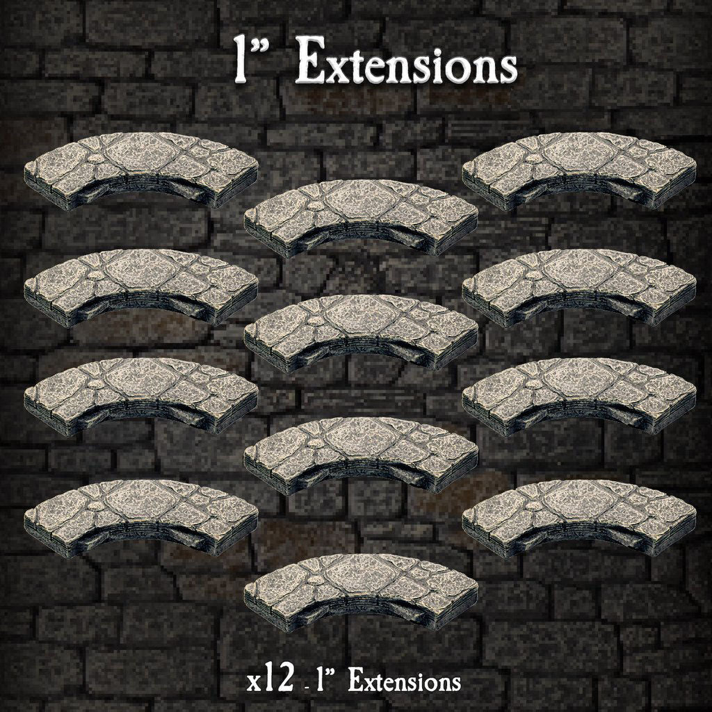 "1"" Extensions - Painted"