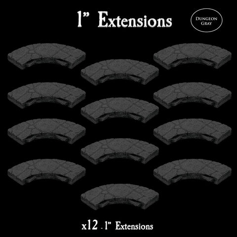 "1"" Extensions - Unpainted"