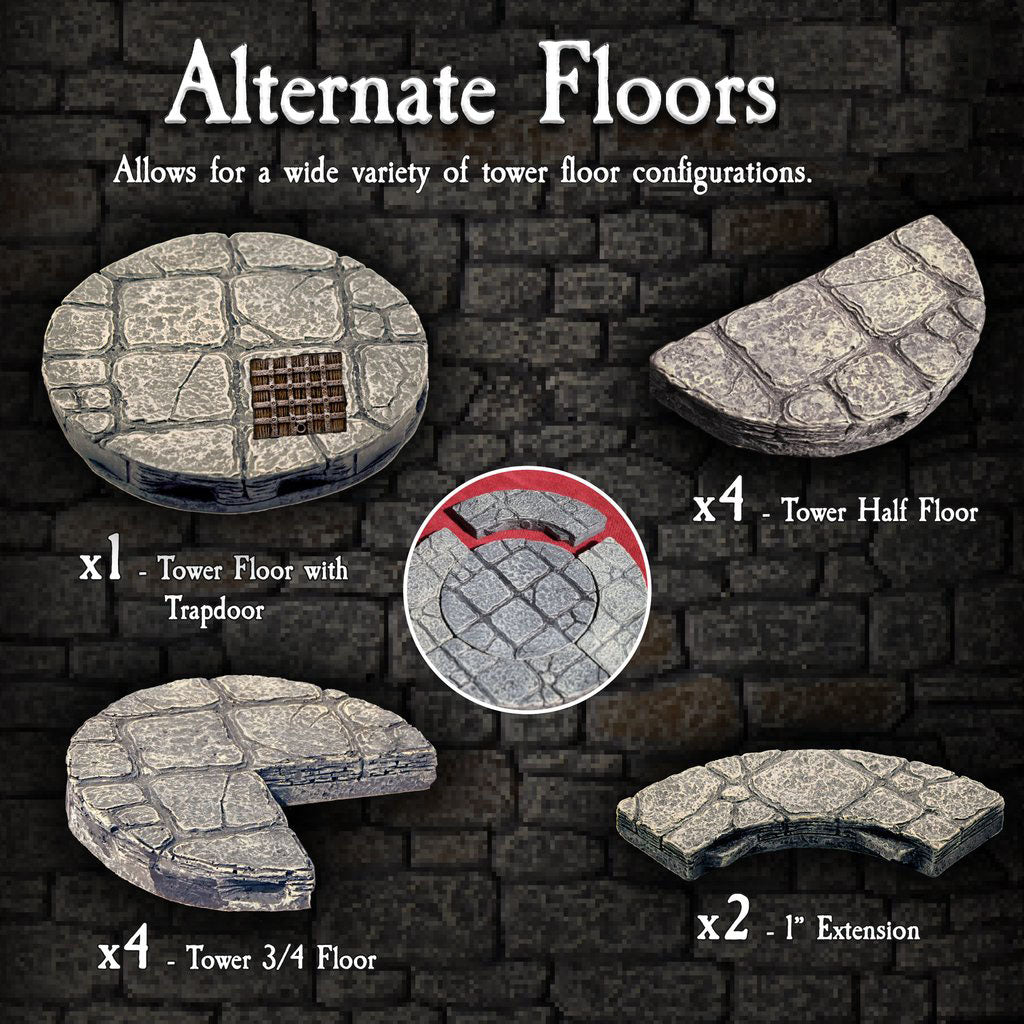 Alternate Floors - Painted