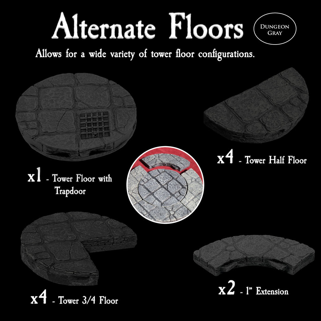 Alternate Floors - Unpainted