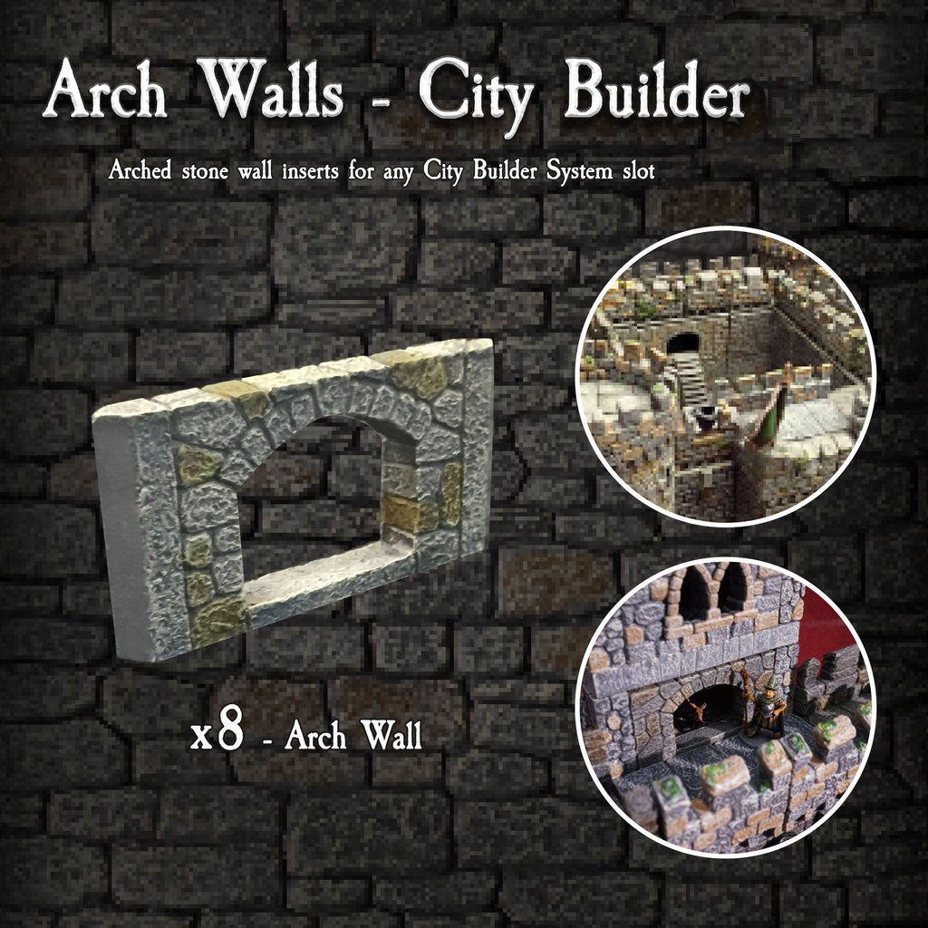 Arch Walls - Painted