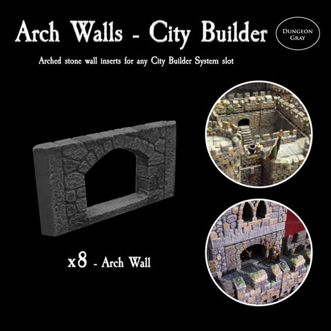 Arch Walls - Unpainted