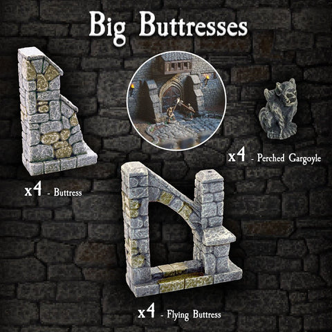 Big Buttress Pack - Painted