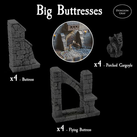 Big Buttress Pack - Unpainted