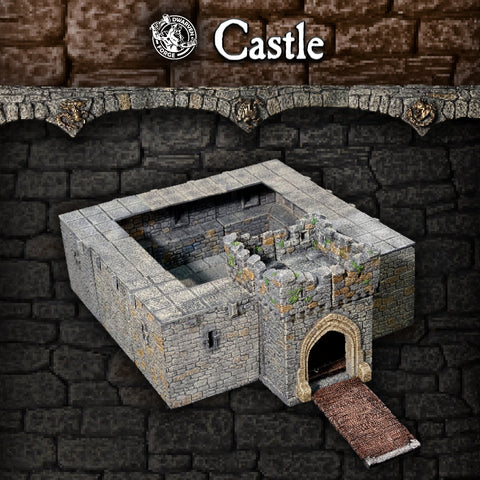 Castle Set - Unpainted