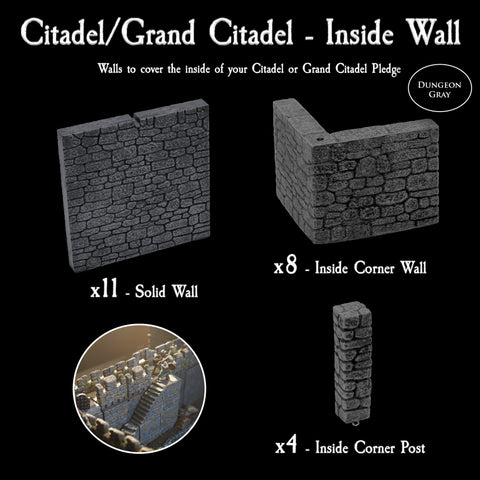 Citadel / Grand Citadel Inside Wall Pack - Unpainted