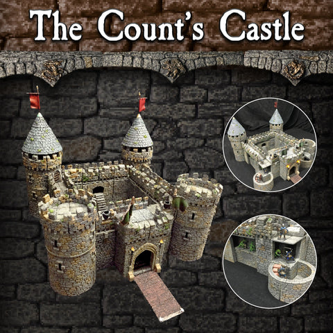 Count's Castle Set - Unpainted