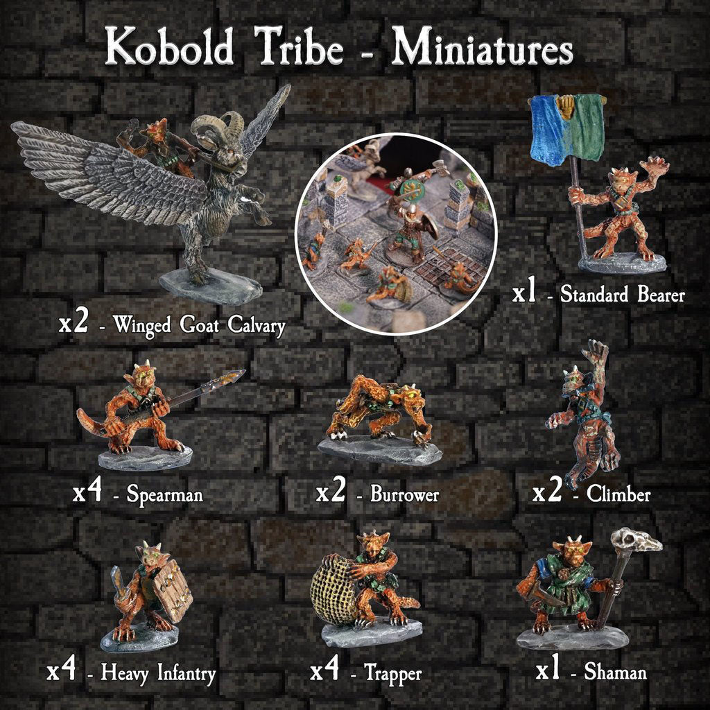 Kobold Tribe - Painted