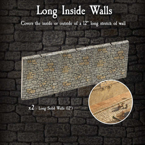 Long Inside Walls Pack - Painted