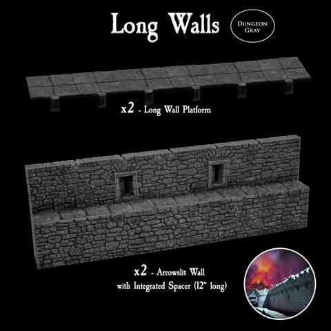 Long Walls Pack - Unpainted