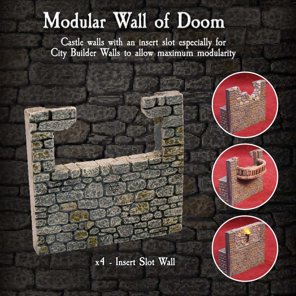 Modular Wall of Doom - Painted