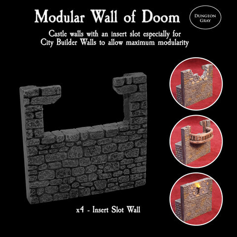 Modular Wall of Doom - Unpainted