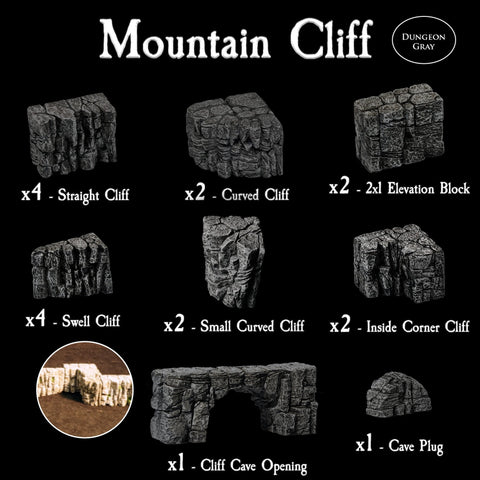 Mountain Cliff Pack - Unpainted