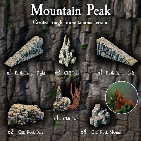 Mountain Peak Pack - Painted