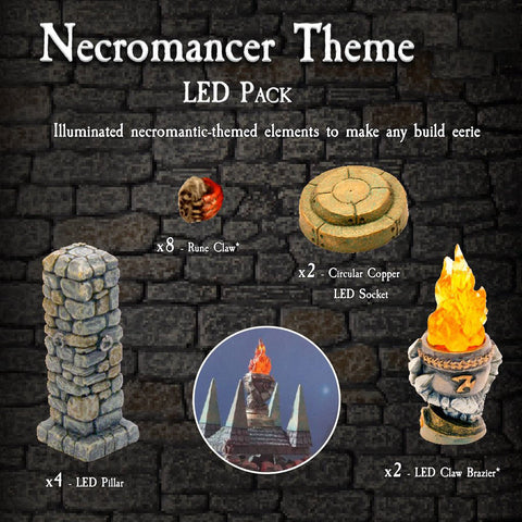 Necromancer LED Pack - Painted