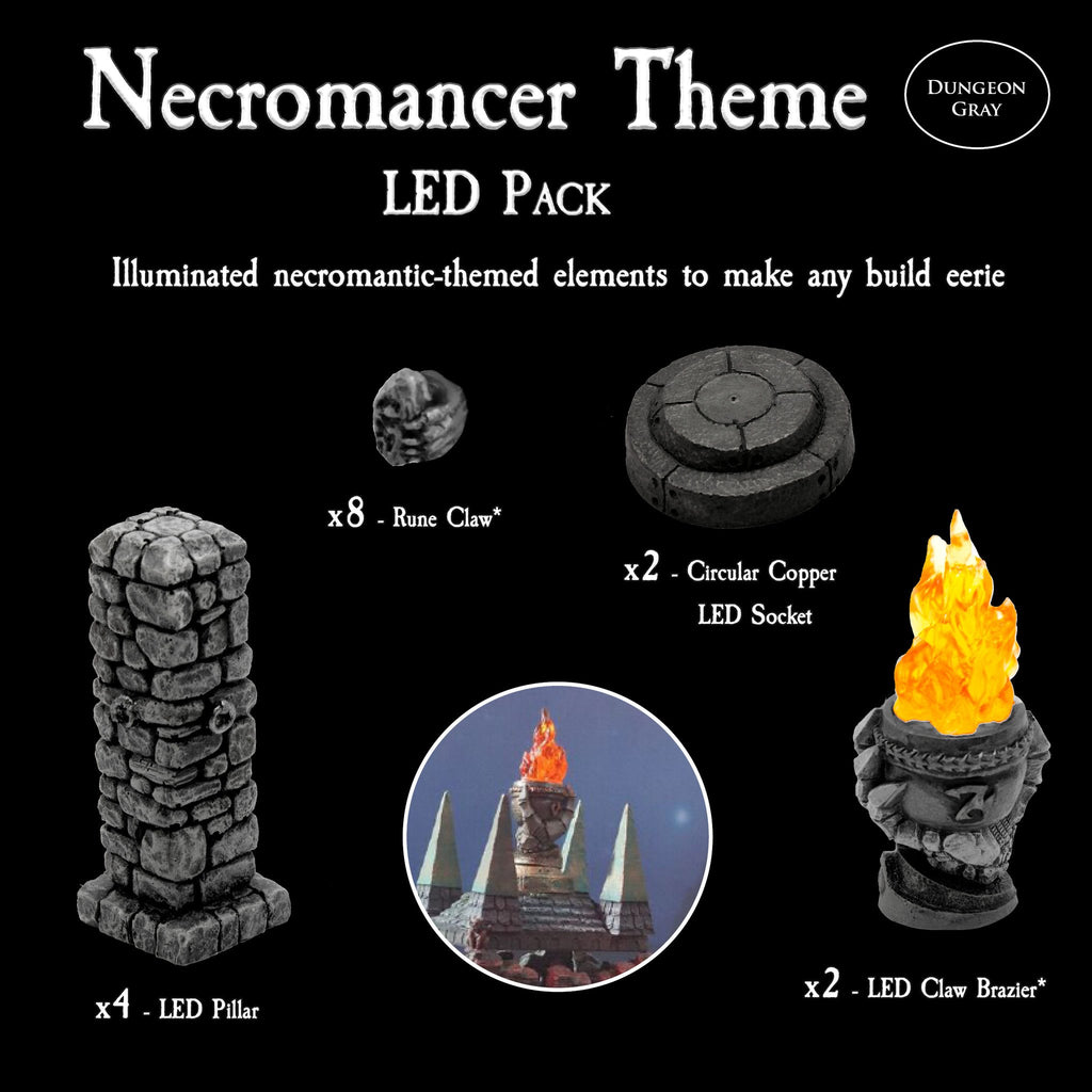 Necromancer LED Pack - Unpainted