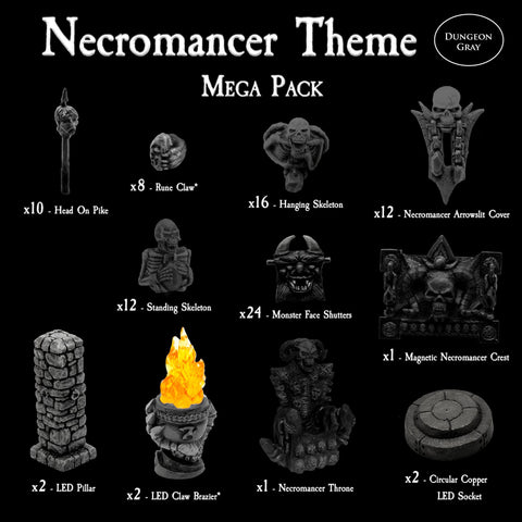 Necromancer Mega Pack - Unpainted