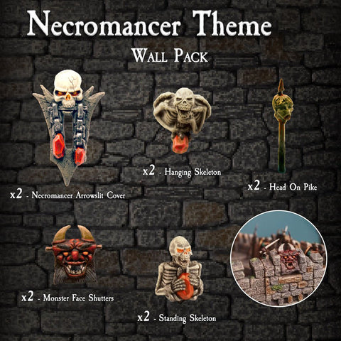 Necromancer Wall Pack - Painted