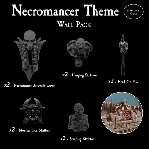 Necromancer Wall Pack - Unpainted