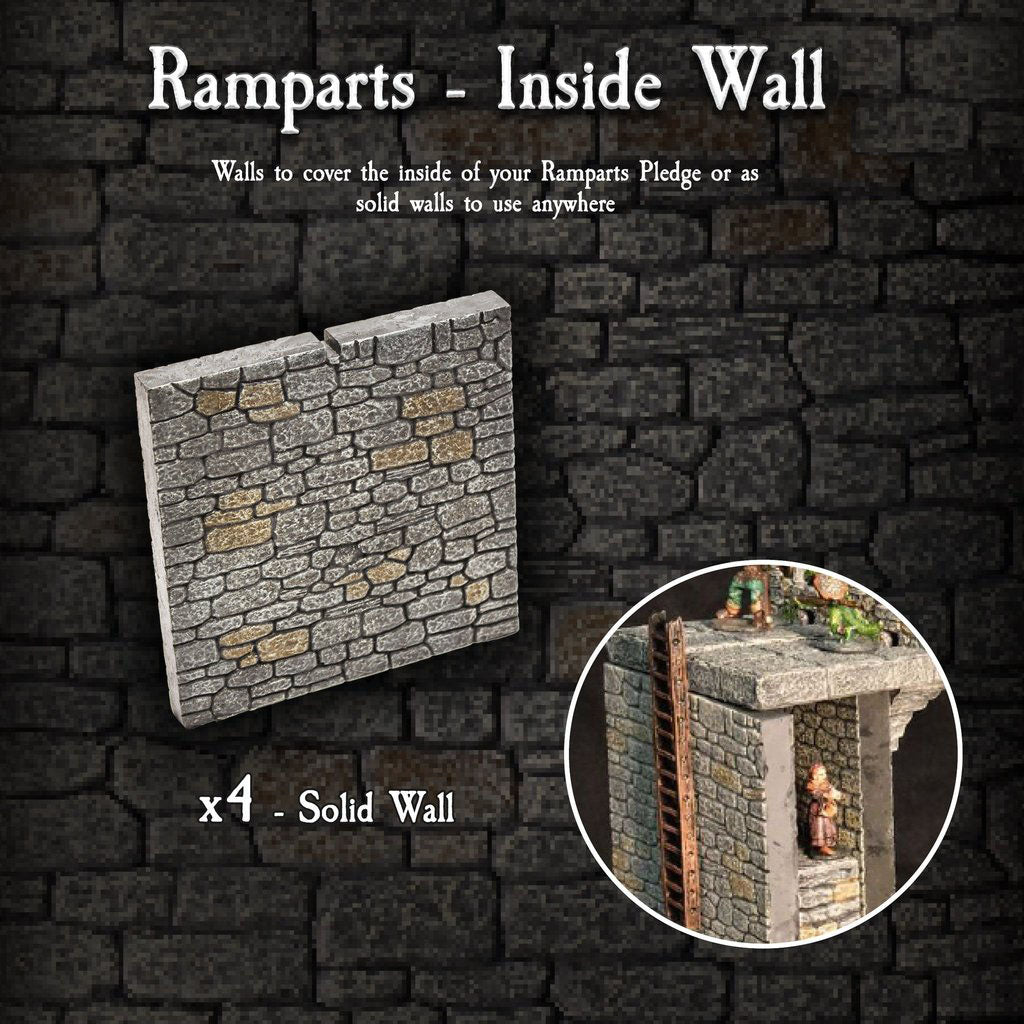 Ramparts Inside Wall Pack - Painted