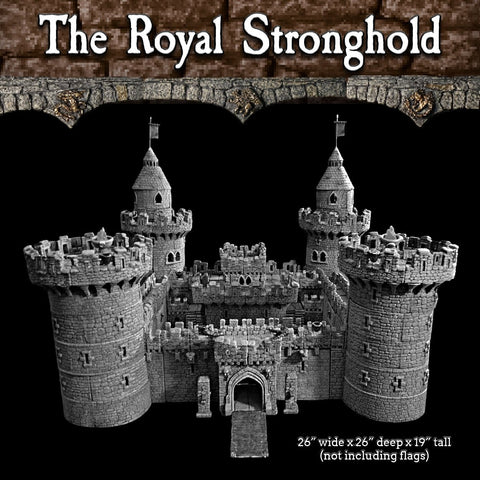Royal Stronghold Set - Unpainted