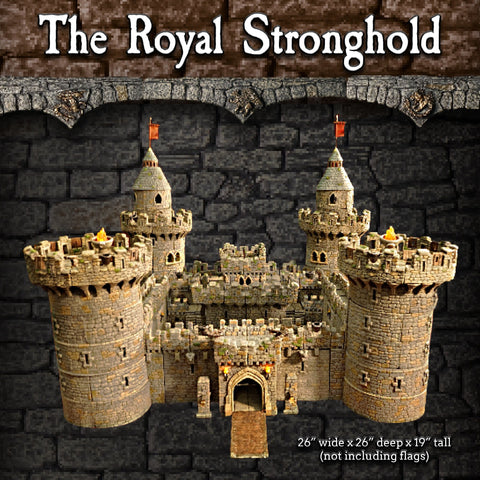 Royal Stronghold Set - Painted