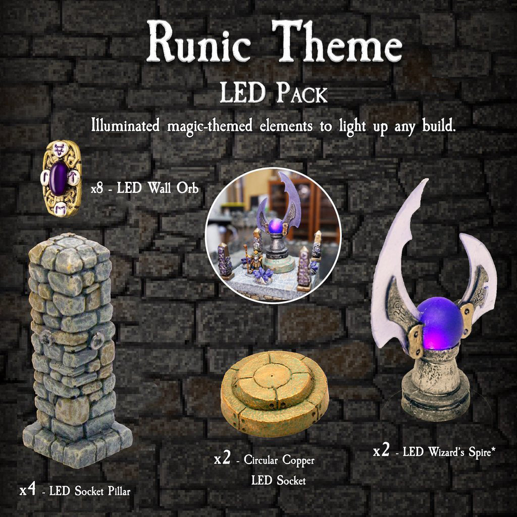 Runic Theme LED Pack - Painted