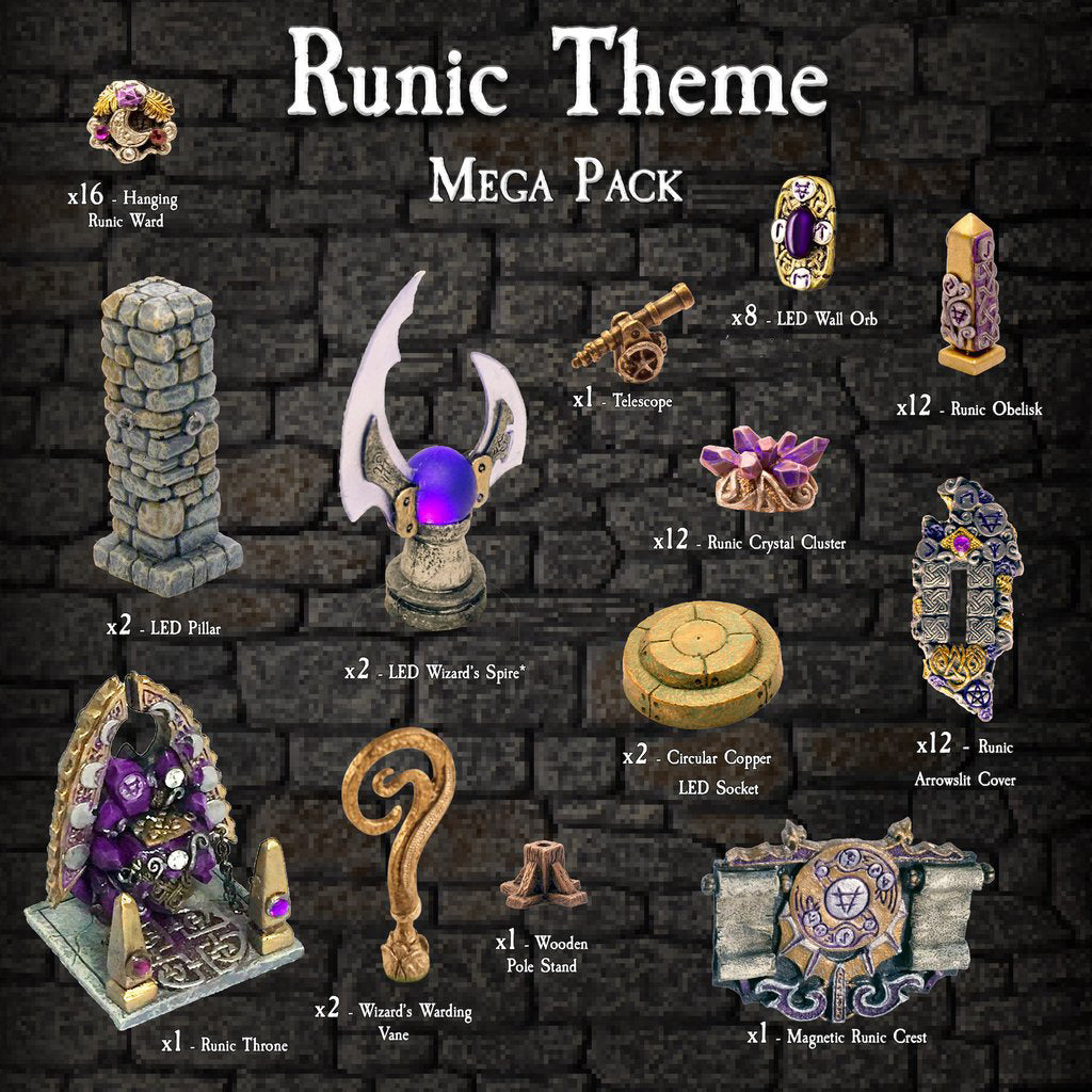 Runic Theme Mega Pack - Painted