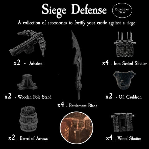Siege Defense Pack - Unpainted