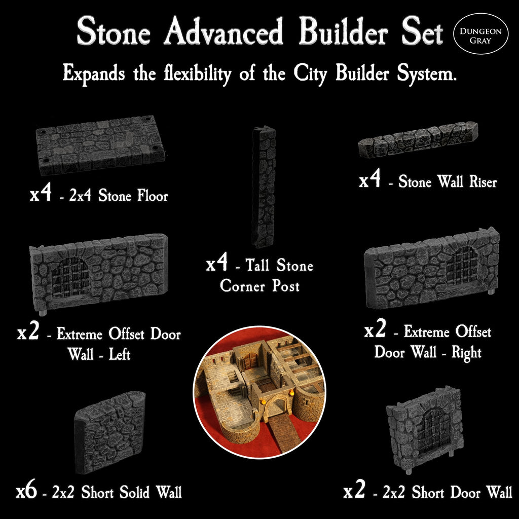 Stone Advanced Builder Set - Unpainted