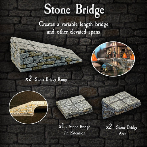 Stone Bridge Pack - Painted