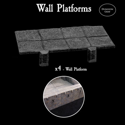 Wall Platforms - Unpainted