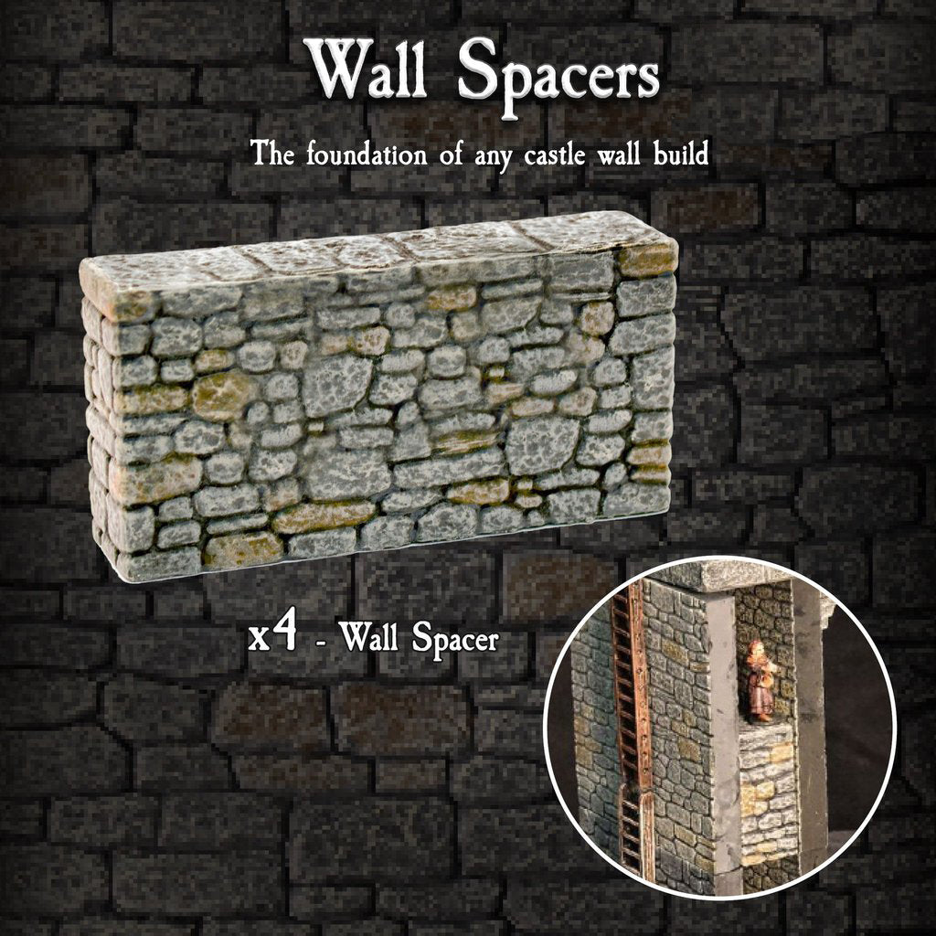 Wall Spacers - Painted