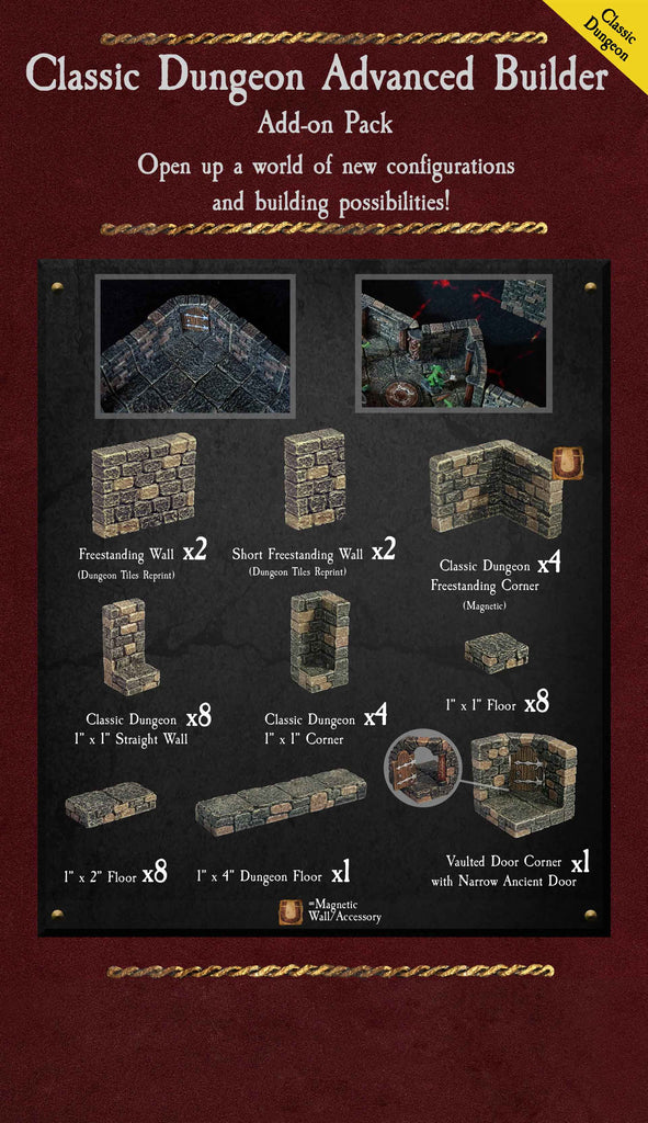 Classic Dungeon Advanced Builder - Painted