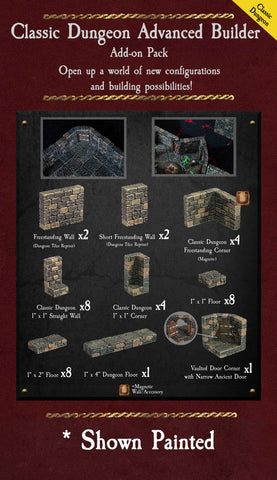 Classic Dungeon Advanced Builder - Unpainted