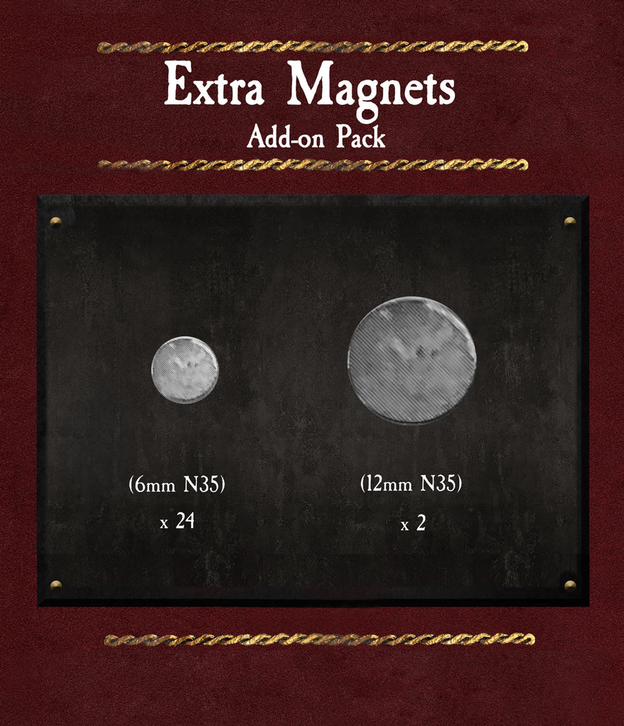 Extra Magnets (set of 26)