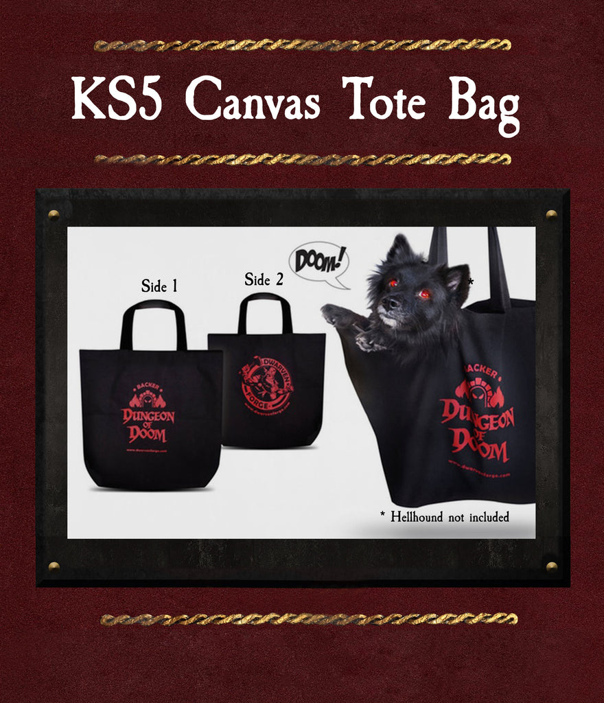 Canvas Tote Bag - KS5 - Dungeon of Doom