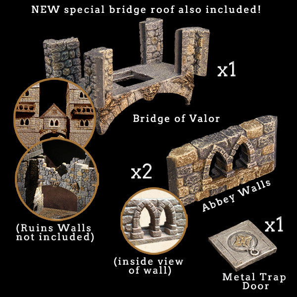 Bridge of Valor Add-On Pack - Painted