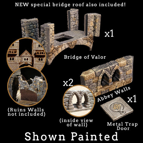 Bridge of Valor Add-On Pack - Unpainted