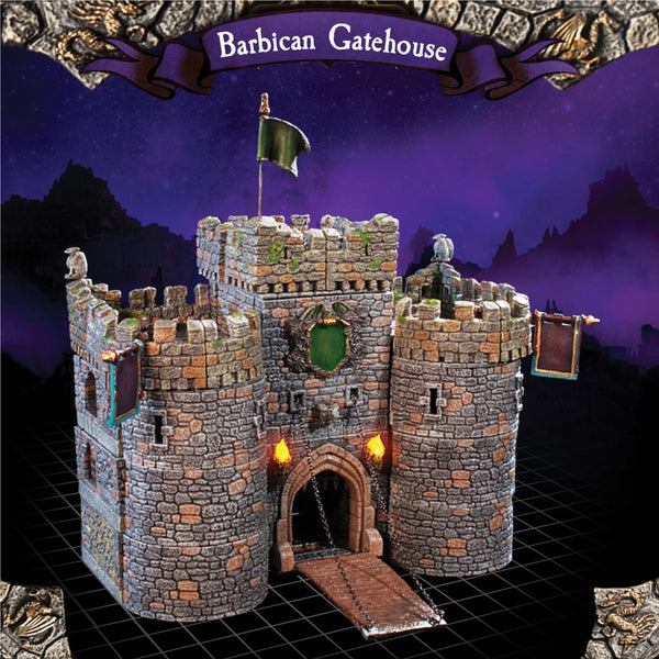 Barbican Gatehouse - Painted