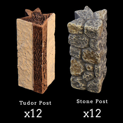 Corner Posts Add-On Pack (Expertly Hand Painted)