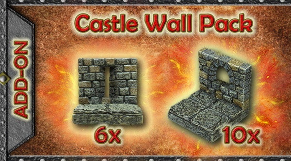 Castle Wall Pack (Expertly Hand Painted)