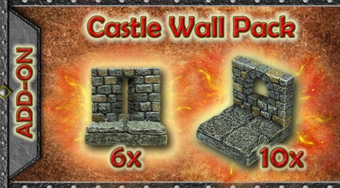 Castle Wall Pack (Expertly Hand Painted) RESTOCK COMING SOON