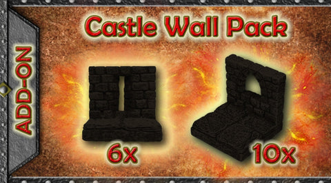 Castle Wall Pack - Unpainted