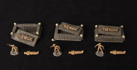 Catacombs Set 2 - Tombs & Mummies (Classic Resin)
