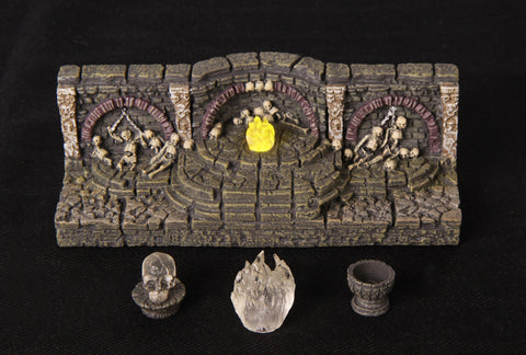 Catacombs Set 2 - 6'' Lighted Wall (Classic Resin)