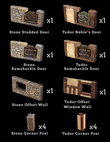 Doors and Windows Add-On Pack (Expertly Hand Painted)